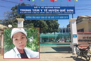Khởi tố, bắt giam thanh niên 20 tuổi đâm chết bảo vệ vì can ngăn đánh vợ trong bệnh viện