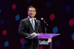 Bộ trưởng Nguyễn Mạnh Hùng: Lotus truyền cảm hứng mạnh mẽ cho các DN Việt hướng tới chủ trương 'Make in Việt Nam'