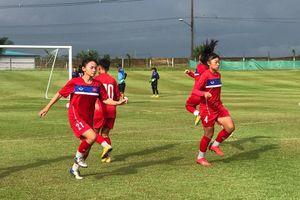 VCK U16 nữ châu Á 2019: U16 Việt Nam vững tinh thần trước giờ đấu