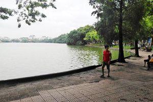 Thi công cải tạo khu vực quanh hồ Hoàn Kiếm phải thận trọng, tỉ mỉ