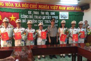 Thi hành án dân sự Kiên Giang tiếp tục kiện toàn bộ máy tổ chức