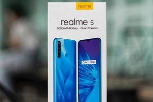 Realme 5 sắp ra mắt thị trường Việt, giá dưới 5 triệu đồng