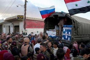 Nga giao 3 tấn hàng viện trợ cho người dân Syria