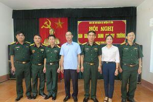Kỳ Sơn có tân Chỉ huy trưởng Ban CHQS huyện