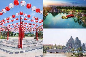 Háo hức khám phá Vườn Nhật 'siêu to khổng lồ' ở Hà Nội
