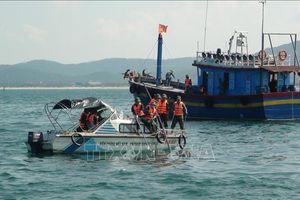 Tìm thấy thi thể nạn nhân mắc kẹt trong tàu cá bị chìm