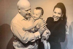 Cuối cùng Thu Minh cũng công khai ảnh rõ mặt con trai đầu lòng với chồng Tây sau thời gian dài giấu kỹ