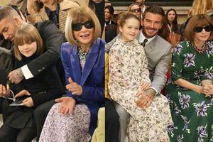 Gia đình Beckham dắt nhau đi sự kiện của mẹ: Harper nổi nhất nhà, gây choáng với màn 'dậy thì' sau 7 tháng
