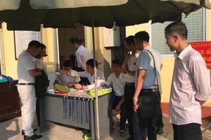 An ninh thắt chặt trước phiên tòa xét xử vụ gian lận điểm thi ở Sơn La