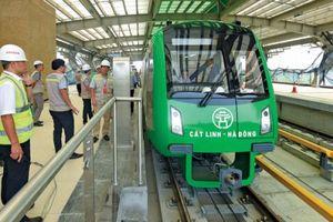 Bộ GTVT yêu cầu tổng thầu đường sắt Cát Linh - Hà Đông cam kết mốc vận hành
