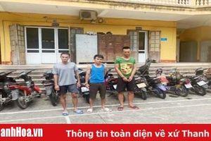 Công an TP Thanh Hóa triệt xóa ổ nhóm chuyên trộm cắp xe máy