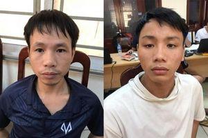 Tạm giữ hai nghi phạm vụ bắn pháo sáng trên sân Hàng Đẫy