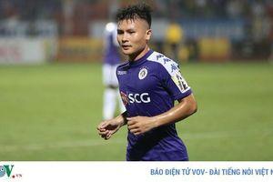 Tiền vệ Quang Hải nói gì sau trận derby Thủ đô không khán giả?