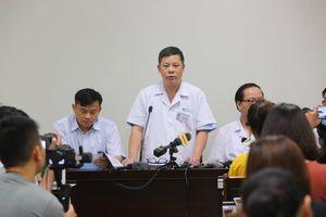 Bệnh viện Nhi Trung ương thông tin sức khỏe bé trai bị bỏ quên trên xe đưa đón học sinh ở Bắc Ninh