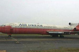 Doanh nghiệp muốn đổi máy bay bị bỏ quên 12 năm ở Nội Bài bằng... bia, rượu, bánh kẹo