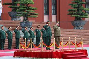 Tổng Tham mưu trưởng các Lực lượng Vũ trang Cách mạng Cuba thăm Việt Nam