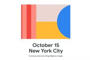 Google phát thư mời cho sự kiện 'Made by Google' ngày 15/10