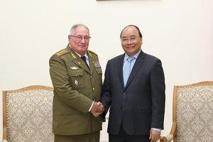 Thủ tướng Nguyễn Xuân Phúc: 'Việt Nam luôn đứng bên cạnh Cuba'