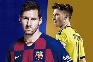 Thống kê đáng sợ của Messi trước trận gặp Dortmund