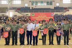 Đại hội khỏe 'Vì an ninh Tổ quốc' lần thứ VIII: Khai mạc thi đấu môn Bóng bàn và Taekwondo