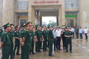 Khảo sát thực tế chuẩn bị cho Giao lưu hữu nghị Quốc phòng biên giới Việt Nam-Trung Quốc lần thứ 6