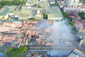Hà Nội công bố nguyên nhân cháy Công ty Rạng Đông là do chập điện
