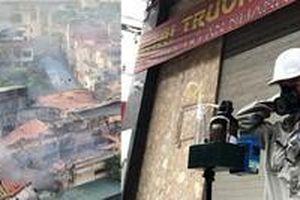 Vụ cháy Rạng Đông: Chất lượng không khí và chất độc hại đều trong giới hạn cho phép