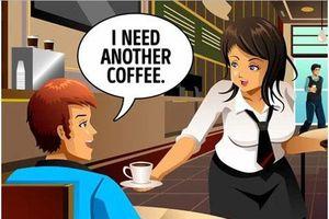 Tại sao chàng trai biết nữ nhân viên phục vụ đang lừa mình?