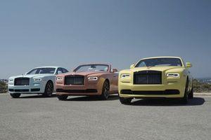 Rolls-Royce giới thiệu bộ sưu tập nhiều màu sắc Pastel Collection
