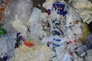 Công an tỉnh Thái Bình giảm thiểu chất thải nhựa y tế trong CAND