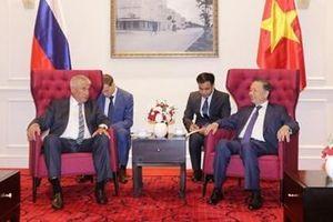Bộ trưởng Tô Lâm tiếp Bộ trưởng Bộ Nội vụ Liên bang Nga