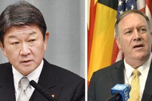 Ngoại trưởng Mỹ điện đàm với tân Ngoại trưởng Nhật Bản