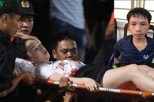 Lời khai của kẻ bắn pháo dù trúng nữ phóng viên trên sân Hàng Đẫy