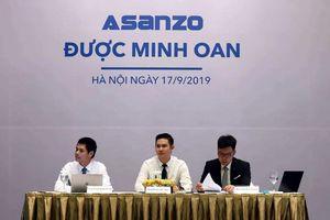 Asanzo họp báo tự 'minh oan', tuyên bố hoạt động trở lại