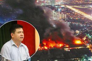 Hà Nội thông tin chính thức nguyên nhân vụ cháy Công ty Rạng Đông