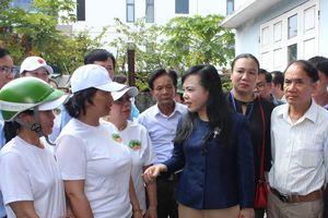 Bộ trưởng Bộ Y tế kiểm tra 'tâm dịch' sốt xuất huyết tại Đà Nẵng