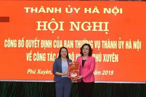 Bà Phạm Hải Hoa giữ chức Phó Trưởng Ban Thường trực Ban Dân vận Thành ủy