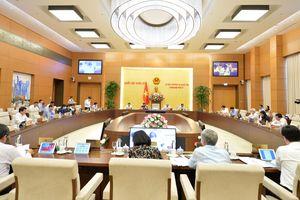 UBTVQH cho ý kiến về Luật Xây dựng sửa đổi, dự thảo Đề án phát triển vùng DTTS