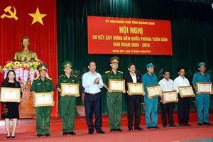 Tỉnh Quảng Nam sơ kết 10 năm xây dựng nền Quốc phòng toàn dân