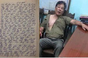 Giải mã tâm thư anh trai chém cả nhà em ở Thái Nguyên: Quẩn quá nên gây án?