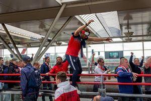 Champions League: Hàng trăm CĐV của Lille bị bắt vì tấn công tàu điện ngầm