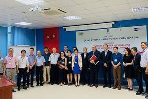 Bỉ tiếp tục hỗ trợ Việt Nam ứng phó hiệu quả với những thách thức của thiên tai