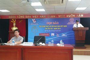 42 đội tham gia Giải bóng bàn Cúp Hội Nhà báo Việt Nam