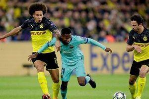 Marco Reus đá hỏng pen, Dortmund chia điểm đáng tiếc với Barcelona