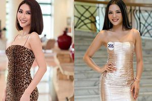 Tường Linh khoe eo nhỏ mặt xinh vẫn bị lép vế trước dàn thí sinh ít tên tuổi nhưng học vấn 'khủng' tại sơ khảo Hoa hậu Hoàn vũ Việt Nam 2019