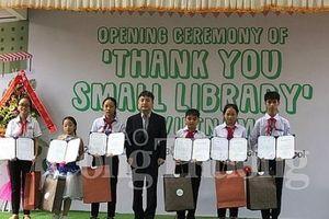 Khánh thành 3 thư viện nhỏ do Hàn Quốc tài trợ tại Nam Định