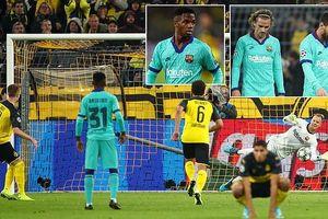 Kết quả Cup C1: Barcelona may mắn cầm hòa Dortmund