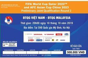 VFF công bố hình ảnh mẫu, cách thức mua và giá vé trận Việt Nam vs Malaysia dễ dàng nhất