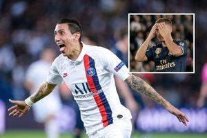 Hazard lu mờ trước Di Maria, Real Madrid thua tan tác ở PSG