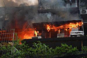 Một phụ nữ tử vong do ngạt khói trong đám cháy